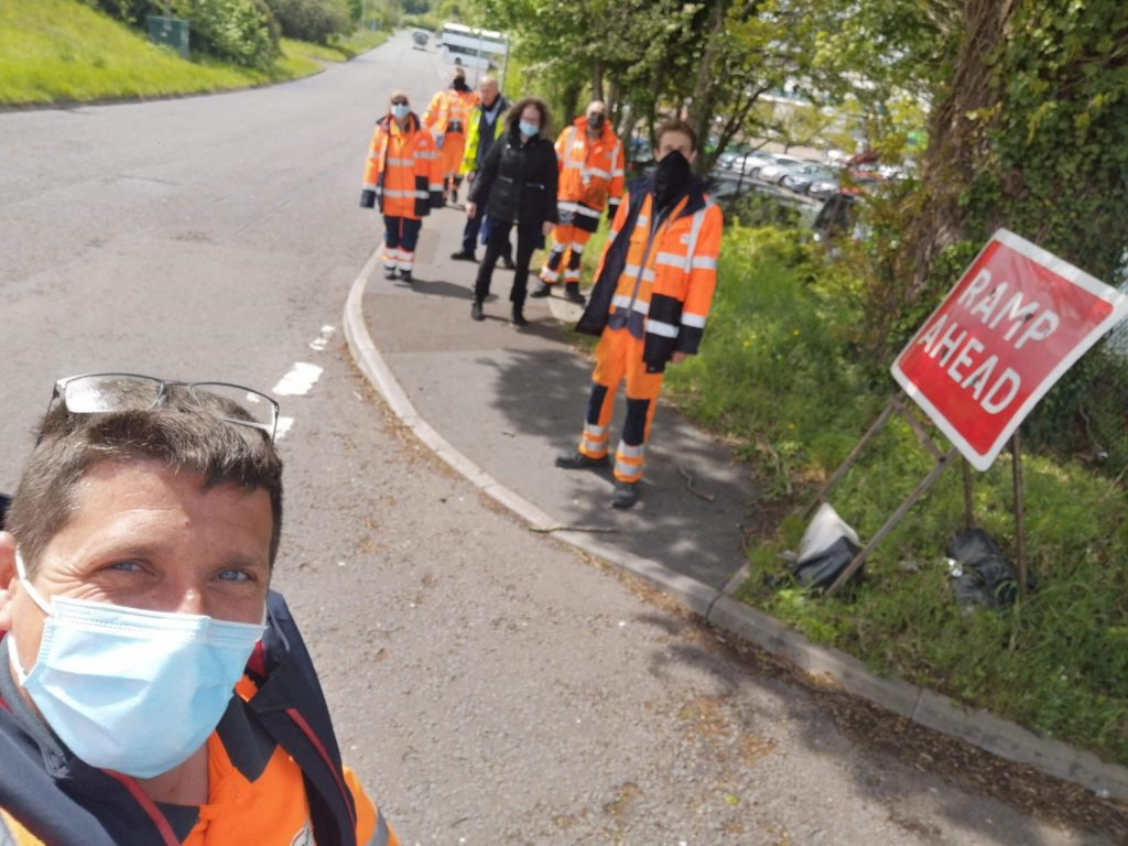 Somerset Passenger Solutions Mental Health Walk